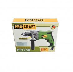 Bormasina cu percutie ProCraft PS1250 foto