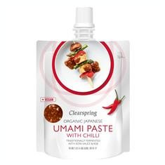 Pasta Umami Chilli Eco Clearspring 150gr Cod: 5021554003755