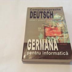 IULIAN I. UNTARU - GERMANA PENTRU INFORMATICA--RF16/2