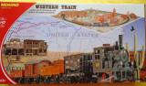 Cumpara ieftin Start Set Trenulet Electric Western cu Diorama, scara HO - MEHANO T109