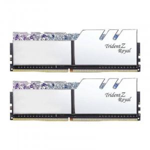 Memorie GSKill Trident Z Royal RGB Silver 16GB DDR4 3600MHz CL18 1.35v Dual Channel Kit