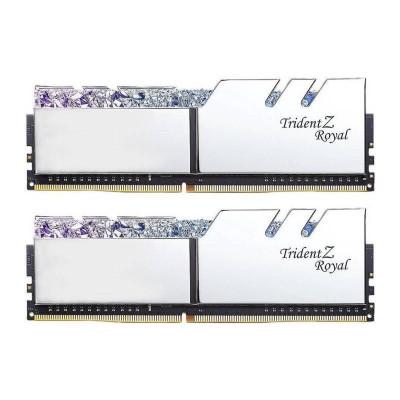 Memorie GSKill Trident Z Royal RGB Silver 16GB DDR4 3600MHz CL18 1.35v Dual Channel Kit foto