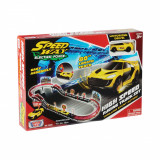 Set de joaca cu 1 masinuta High Speed Racing Track Motormax