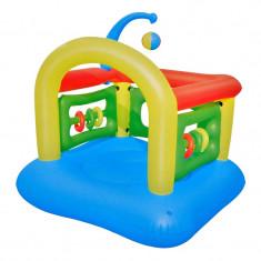 Loc de joaca gonflabil, 6 inele, Multicolor, Intex