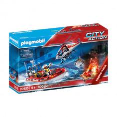 Playmobil City Action - Misiunea de salvare a pompierilor