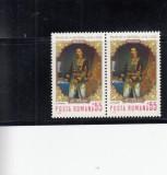 ROMANIA 1970  LP 724 - 150 DE ANI  DE LA NASTEREA LUI A.I.CUZA  PERECHE  MNH