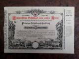 10 Gulden 1882 Austria / actiuni vechi / actiune veche ( Kronstadt Brasov )