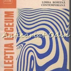 Norme, Abateri Si Inovatii In Limba Romana Contemporana - N. Mihaescu