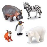 Set 5 figurine - Animalute de la Zoo, Learning Resources