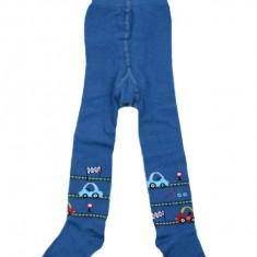 Ciorapi cu chilot baietei Milusie CF-05, Albastru