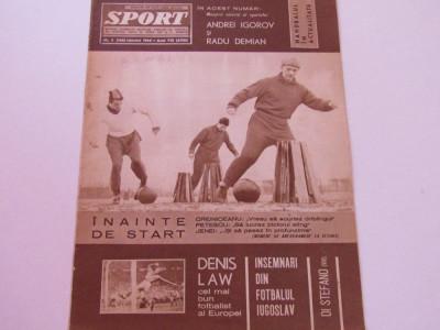 Revista SPORT-nr.3/02.1965 foto