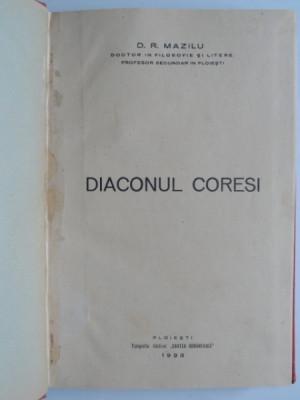 Diaconul Coresi - D.R. Mazilu foto