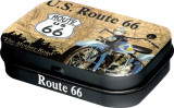 Cutie metalica cu bomboane - Route 66
