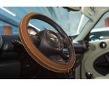 Husa volan Artisan , Handmade, din piele sintetica, diametru 37-39 cm , Culoare Tabacco Maro