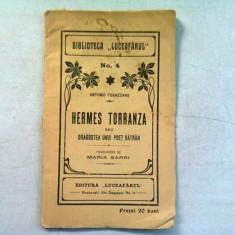 HERMES TORRANZA SAU DRAGOSTEA UNUI POET BATRAN - ANTONIO FOGAZZARO