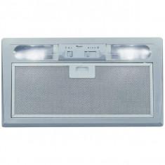 Hota incorporabila Whirlpool WSLESS 66 AS GR, 240 W, 380 m3/h, Argintiu