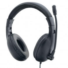 Casti Gaming DeTech X2020 cu microfon, Difuzoare 40 mm, 1.2m