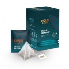 Ceai negru English Breakfast Evolet Selection piramida 25 plicuri