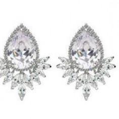 Cercei Borealy Diamond Grammy Pear Marquise
