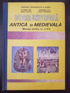 ISTORIA UNIVERSALA ANTICA SI MEDIEVALA MANUAL PENTRU CLASA A V-A