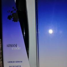 Armani Code Pour Femme - Parfum tester 75ml ( Apa de parfum)
