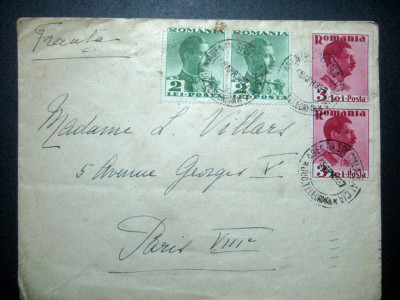 Plic circulat Ag.Speciala Salcia Paris, 1937 foto