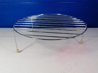 Suport otel inoxidabil cuptor microunde , diametru 26 cm  /  C7 foto