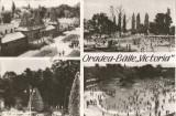 România, Oradea, Băile Victoria, carte poştală ilustrată circulată în Austria