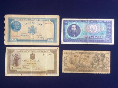 Bancnote România - Lot bancnote românești - starea care se vede (6) foto
