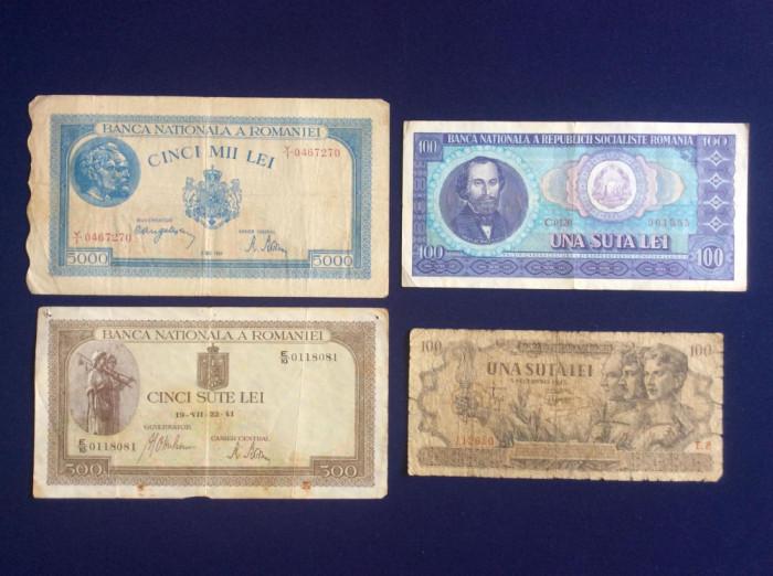 Bancnote România - Lot bancnote românești - starea care se vede (6)