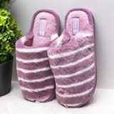 Papuci de casa dama mov Cosylia-rl
