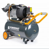 Compresor Aer Comprimat 50L 2 Pistoane POWERMAT TransportGratuit