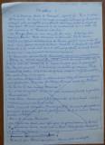 Manuscris Virgil Carianopol ; Intre oltence , nuvela , 3 pagini