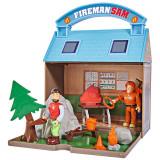 Cumpara ieftin Jucarie Simba Statie montana Mountain Activity Centre Fireman Sam Bergstation cu 2 figurine si accesorii