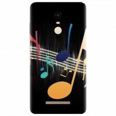 Husa silicon pentru Xiaomi Remdi Note 3, Colorful Music