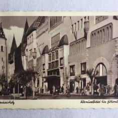 Carte poștală Târgu Mureș, Circulata, Printata