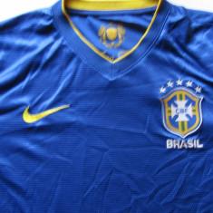 Tricou NIKE fotbal - BRAZILIA, M, Din imagine, Nationala