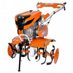 Motosapa Ruris 701KS 7 CP 208 CC + Roti cauciuc + Plug reversibil + Roti metalice fara manicot