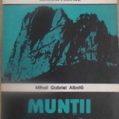 MUNTII CEAHLAU (HARTA LIPSA) - MIHAIL GABRIEL ALBOTA