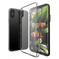 Husa telefon Apple Iphone XS, ofera protectie Silicon Ultrasubtire Lux Clear