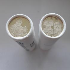 4x 50 Bani 2019 Papa Francisc - Moneda Romania, necirculata, din fisic!