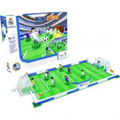 Set de constructie, Nanostar, Teren de fotbal Real Madrid,