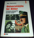 Universitatile lui Hitler - Max Weinreich, contributia intelectualilor nazisti, Polirom, 2000