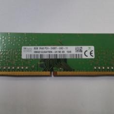 Memorie 8GB DDR4 1RX8 PC4-2400T-UA2 854913-001