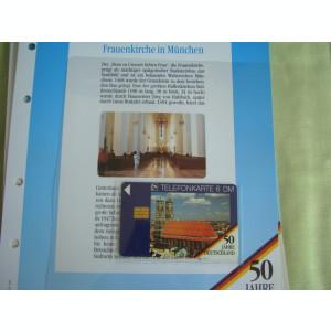 3 Cartele Telefonice 50 Jahre Deutschland - Exponate NOI / 19