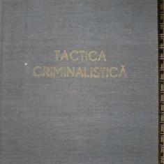 Tactica criminalistica