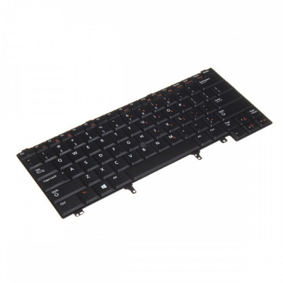 Tastatura Laptop Dell E6430 iluminata cu point stick foto
