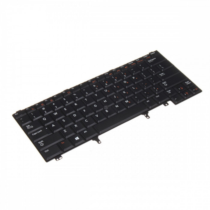 Tastatura Laptop Dell E6430 iluminata cu point stick