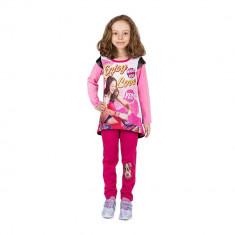 Compleu fete Soy Luna Enjoy roz cu pantaloni fucsia