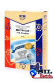 Sac aspirator Electrolux Mondo, sintetic, 4X saci + 2 filtre, K&M